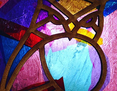 Laser Cut Cellophane Stained Glass Workshop