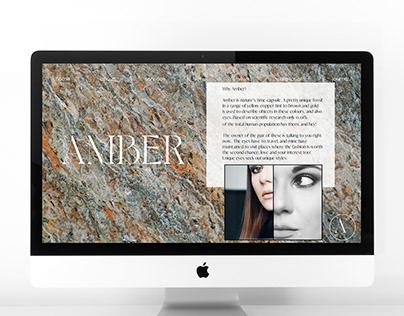 AMBER web design