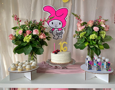 Sweet 16 Decoration