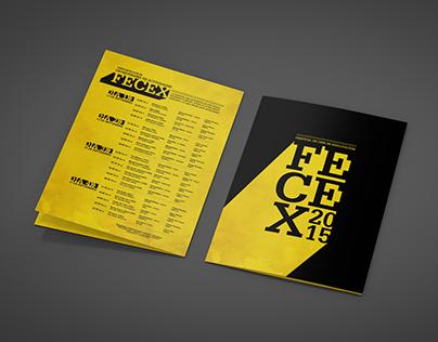 FECEX | Desplegable