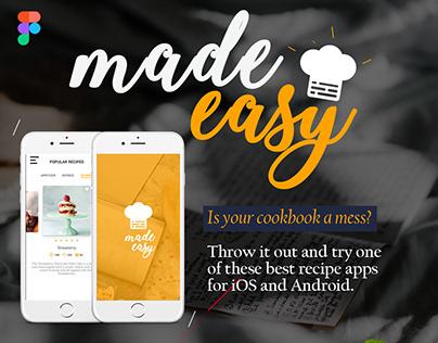 Made easy recipe app