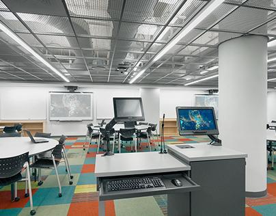 BU Physics Interactive Studio Classroom
