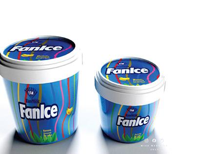Conceptual labeling design FanIce