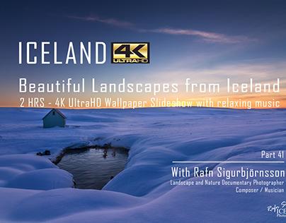 Iceland │2 HRS - 4K Landscape Wallpaper Slideshow