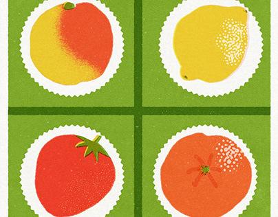 MARZINPAN FRUITS