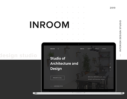 "Interior design studio ""INROOM'"