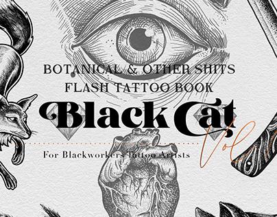 Botanical & Tattoos Flash book - Vol. I