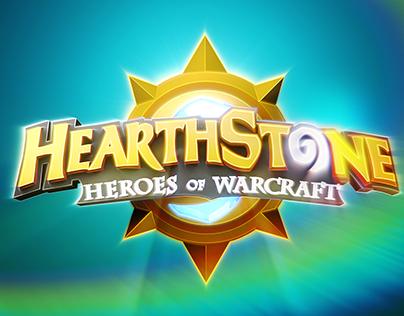 Hearthstone Logo Animation