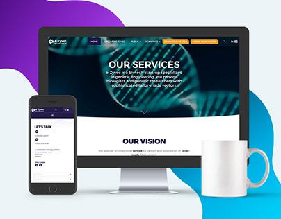 e-Zyvec.com - Refonte de site / DA & Webdesign