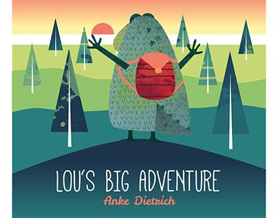 Lou's big adventure - a children's book