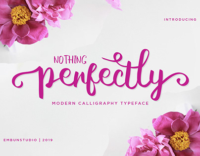 Free Perfectly Script Font