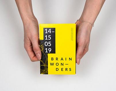 Brain Wonders - Events Brochure