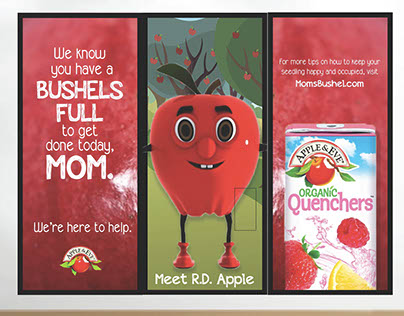 Apple & Eve-Organic Quenchers- Interactive Campaign