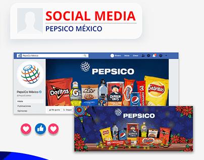 Social Media Pepsico México