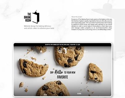 The Baking Room - Website