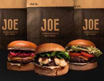 JOE Hamburgueria | Embalagens