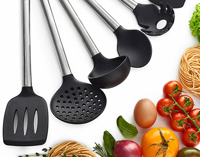 Amazon Product Photography - Kitchen Utencils Set