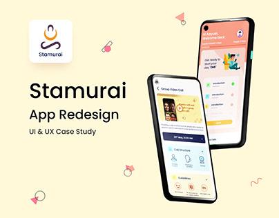 Stamurai App UI & UX Case Study