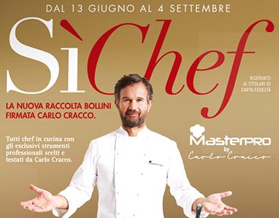 """Raccolta bollini """"Sì Chef"""""""