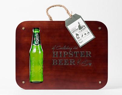 Carlsberg Hipster Beer Kit