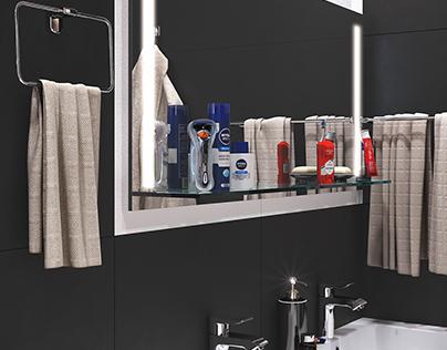 Визуализация санузла bathroom visualization