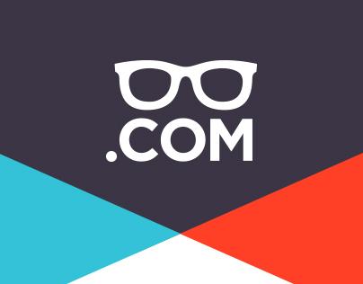 Glasses.com Rebrand Project