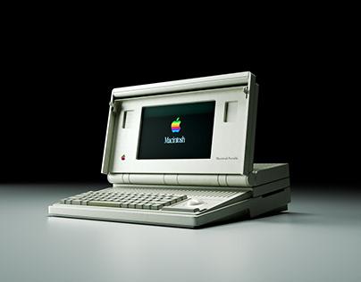 3D Rendering R&D: IT Device Vol.3 Apple Macintosh & IBM