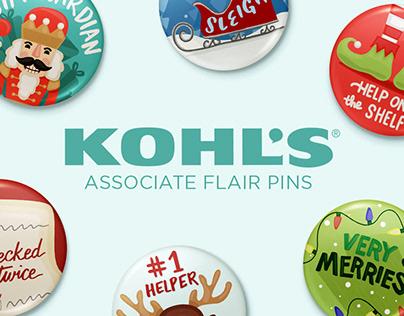 Kohl's Associate Flair Pins