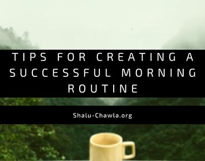 Blog Header - Morning Routine