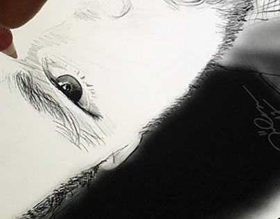 Speed sketch draw