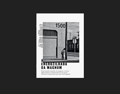 Revista Época - Ensaio Magnum