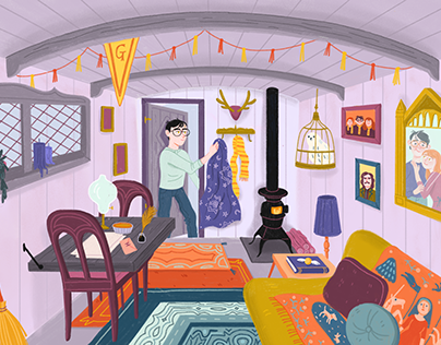 Harry's tiny home