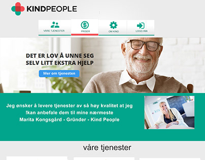 Web UI design for aging people