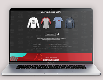 Landing Pages for Abstrakt Marketing Group
