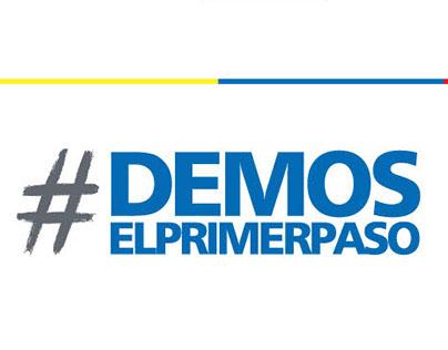 #DEMOSELPRIMERPASO - PAPA FRANCISCO EN COLOMBIA