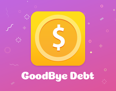 Mobile app «Goodbye Debt».