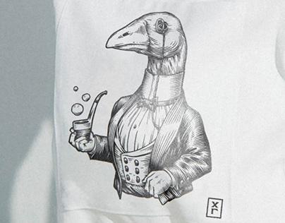 ⚡️Харди Гарди — айдентика для гриль-бара