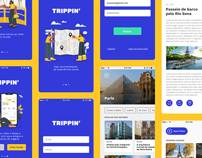 Trippin' - Travel App
