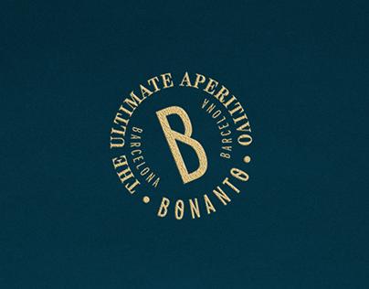 Direción de arte marca Bonanto aperitivo
