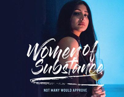 Women Of Substance// Publication Design