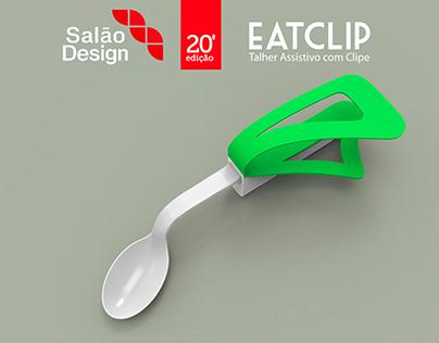 EATCLIP - Talher assistivo com clip