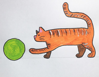 Cat flipbook