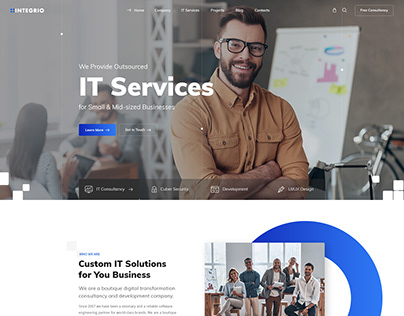 Integrio - IT Solutions and Services Company Theme