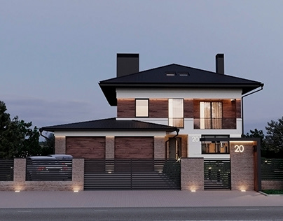 Project of the house - Modern architecture