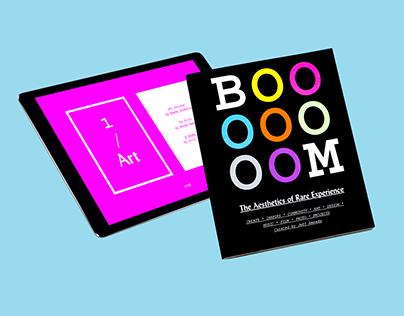 BOOOOOOOM Print & Digital Publication Concept