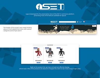 ISET - Loja Virtual de Apresentação