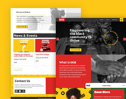 Base Arizona   Web Design - Ui/Ux