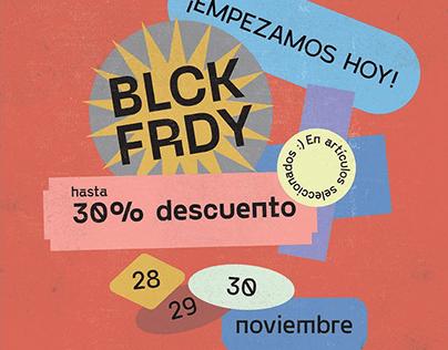 Campaña Black Friday para Doctor Manzana