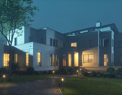 Flashing light & architecture