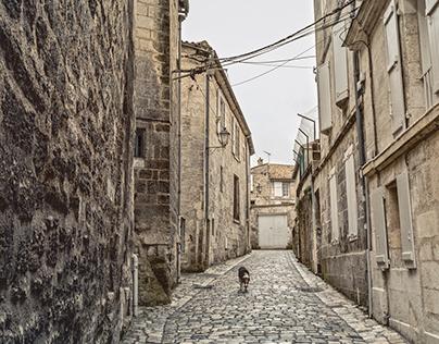 Angoulême - Charente - France - some streets